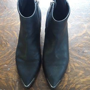 Calvin Klein western style boots, size 8